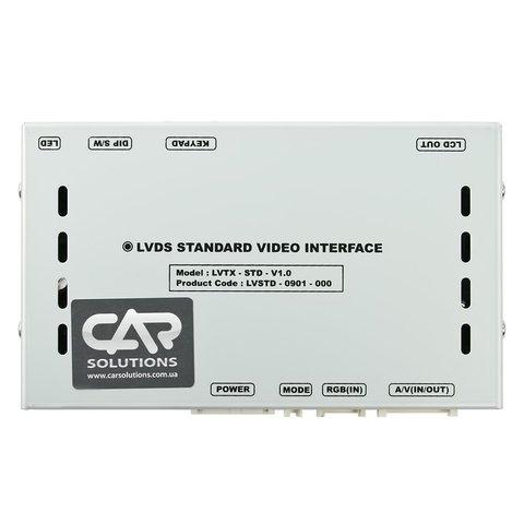 Видеоинтерфейс для Porsche Carrera, Cayenne 2009– г.в. с головным устройством PCM 3.0 Превью 1