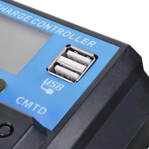 Контролер заряджання фотомодуля PVI-PWM-30A (30 A) Прев'ю 4