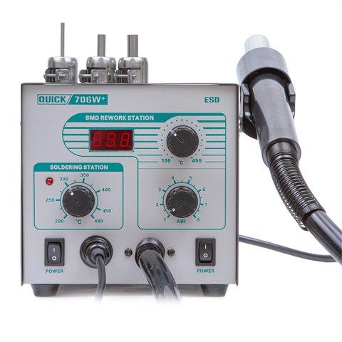 Термоповітряна паяльна станція QUICK 706W+ ESD Прев'ю 3